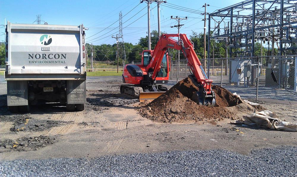 Norcon Environmental Excavation Truck